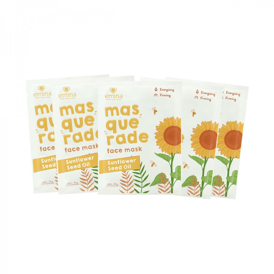 Masquerade Sunflower Seed Oil Sheetmask Bundle