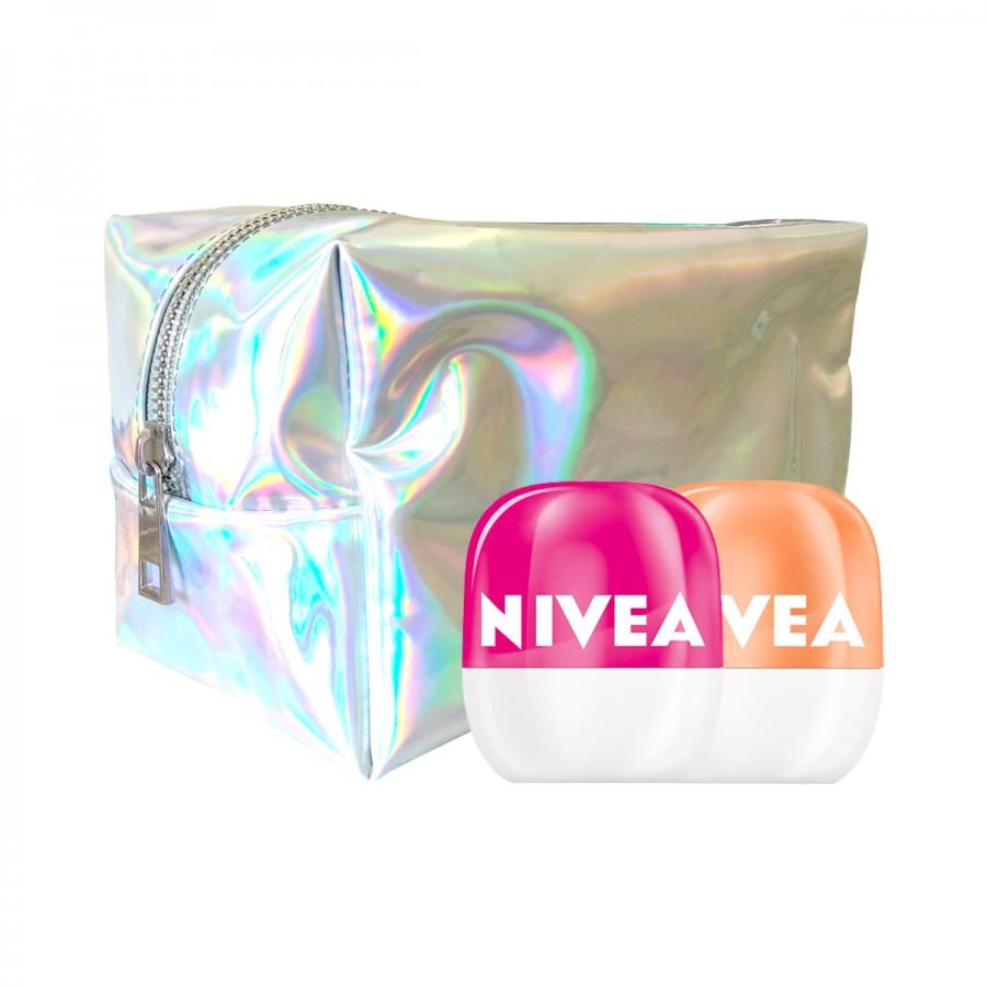 NIVEA Lip Balm Pop Ball - Get Limited Pouch