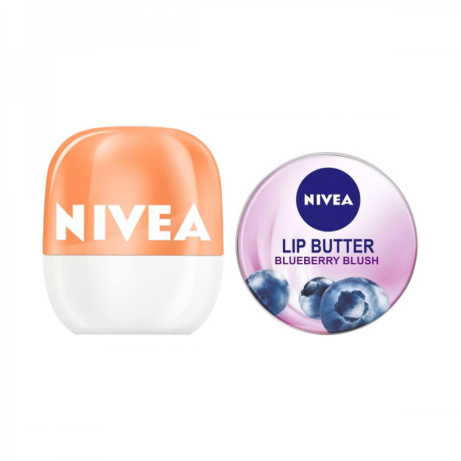 NIVEA Lip Balm Duo