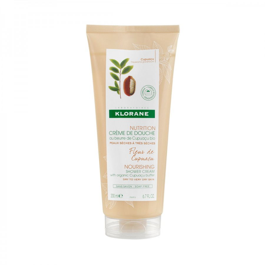 Fleur de Cupuacu Ultra Nourishing Shower Cream with Organic Cupuacu Butter