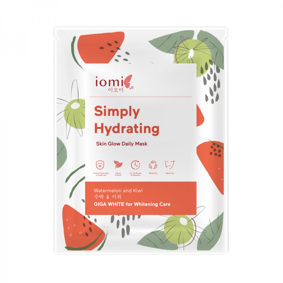 Skin Glow Daily Mask Simply Hydrating Water Melon