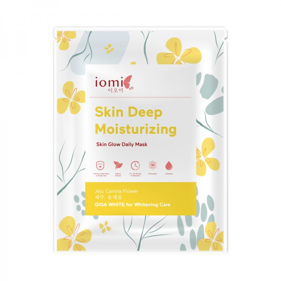 Skin Glow Daily Mask Deep Moisturizing Jeju Canola