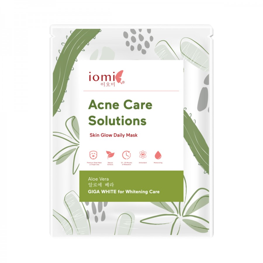 Skin Glow Daily Mask Acne Care Solution Aloe Vera