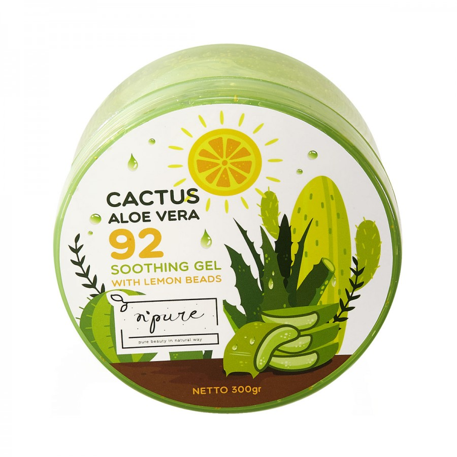 Cactus Aloe Vera Soothing Gel