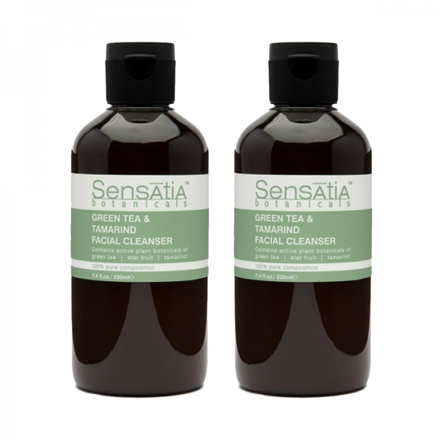 Green Tea and Tamarind Facial Cleanser Twin Pack