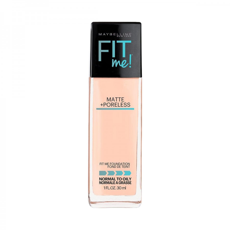 NEW Fit Me! Matte Poreless Foundation with Pump