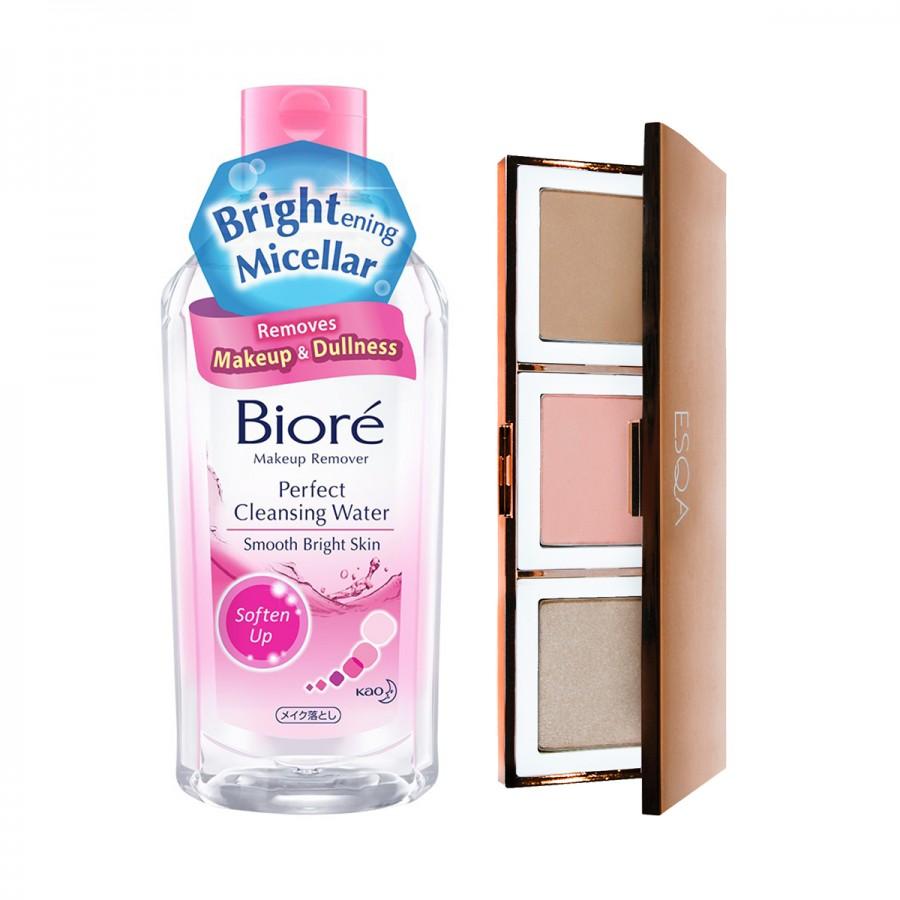 Biore x Esqa Cheek Kit - Clear