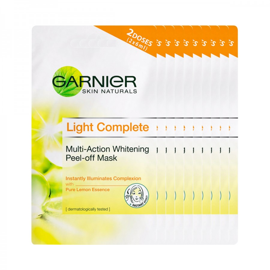 Pack of 10 Light Complete Peel Off Mask