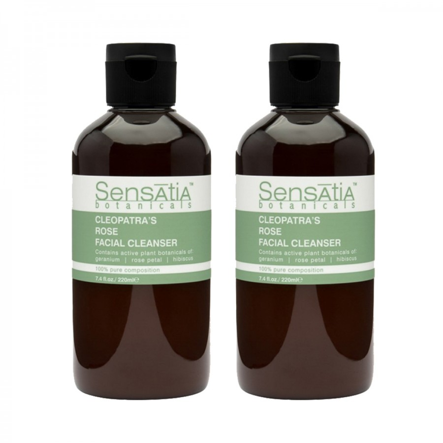Cleopatras Rose Facial Cleanser Twin Pack