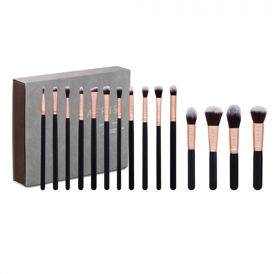 Onyx 15 Face & Eye Brush Set