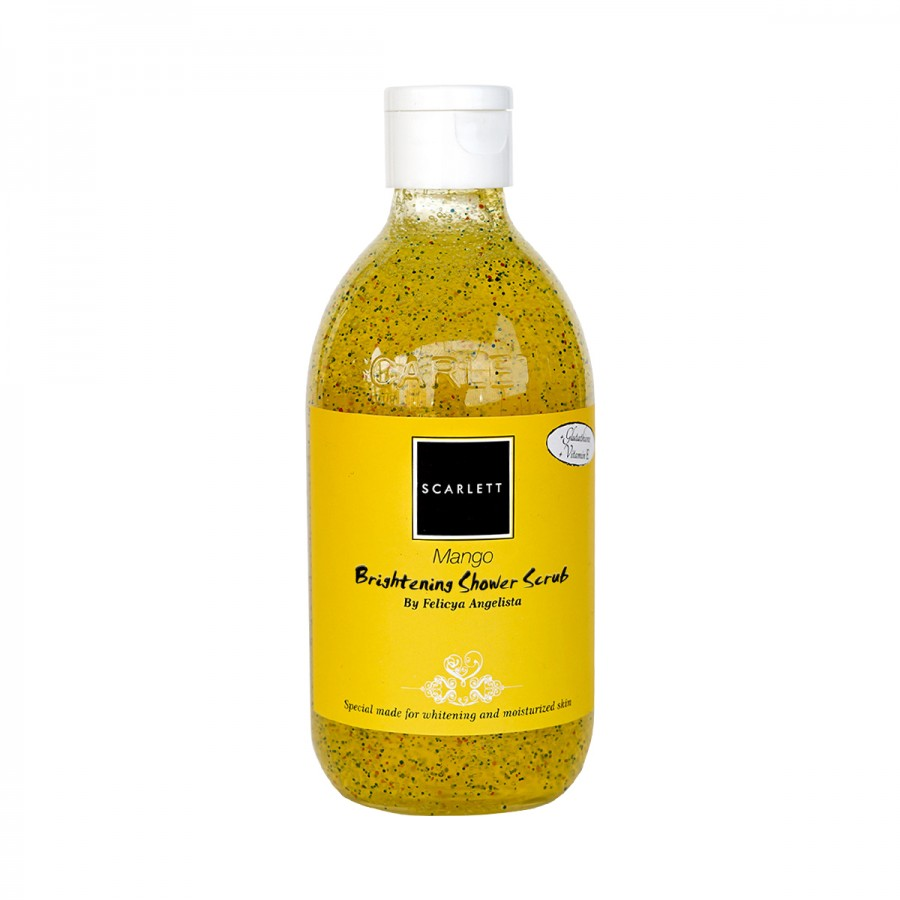 Scarlett Whitening Shower Scrub - Mango