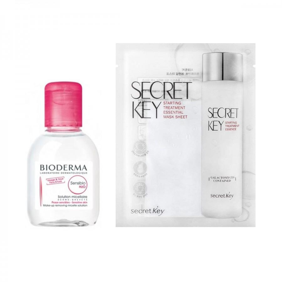 Bioderma Sensibio x Secret Key STE Mask