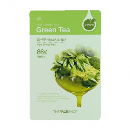 Real Nature Mask Green Tea