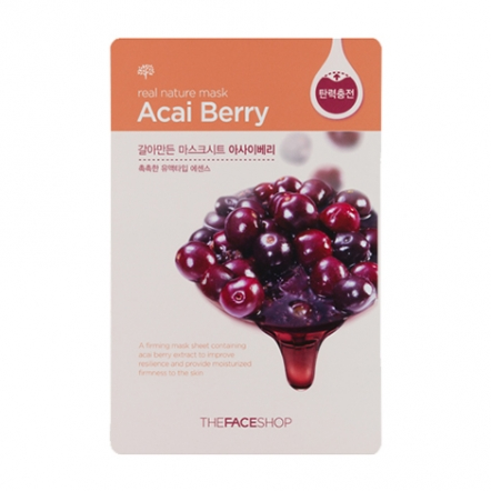 Real Nature Mask Acai Berry
