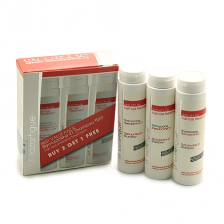 J.F. Lazartigue Stymulactine 21 Shampoo Trio Set