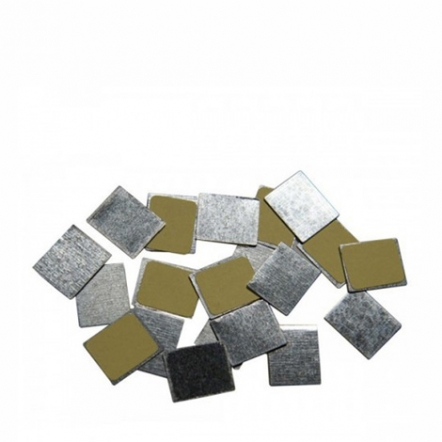 Z Palette 30-Pcs Square Metal Stickers 1 pak