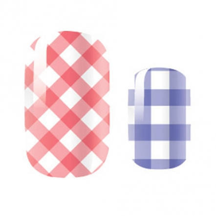 Pattern  Design / Mixed Manis - Picnic