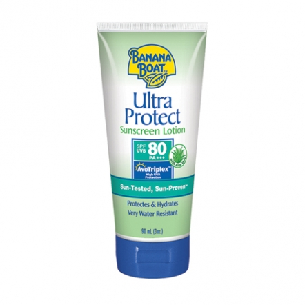 Banana Boat Ultra Protect Sunscreen Lotion SPF 80 - 90ml