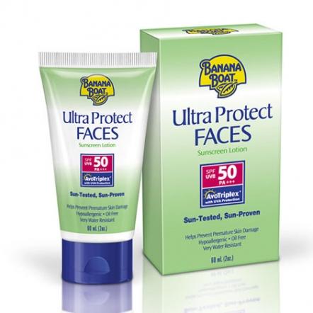 Banana Boat Ultra Protect Faces Sunscreen Lotion SPF 50 - 60ml