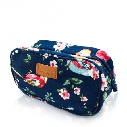 Odelia Cosmetic Pouch - Navy