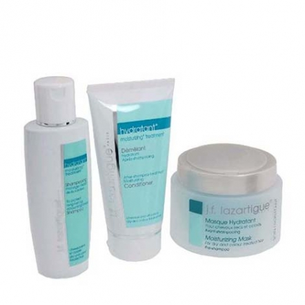 J.F. Lazartigue Moisturizing Trio Set