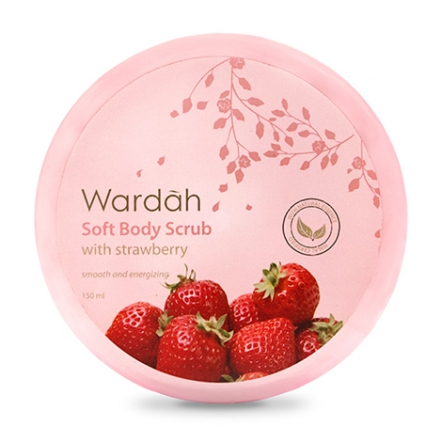 Wardah Soft Body Scrub with Strawberry 150 ml
