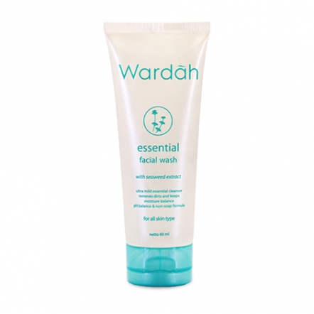 Wardah Essential Facial Wash 60 ml