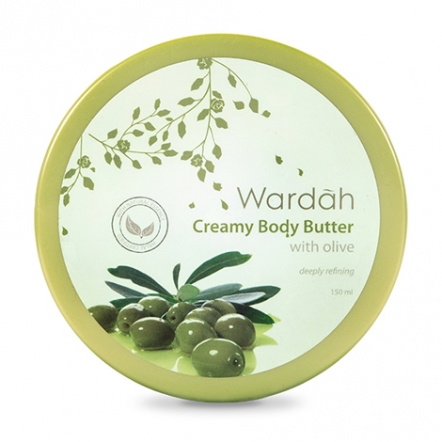Wardah Creamy Body Butter with Olive