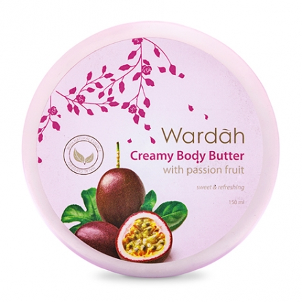 Wardah Creamy Body Butter with Passion Fruit