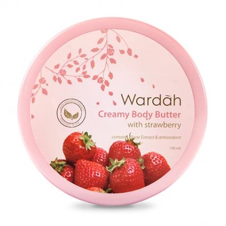 Wardah Creamy Body Butter Strawberry