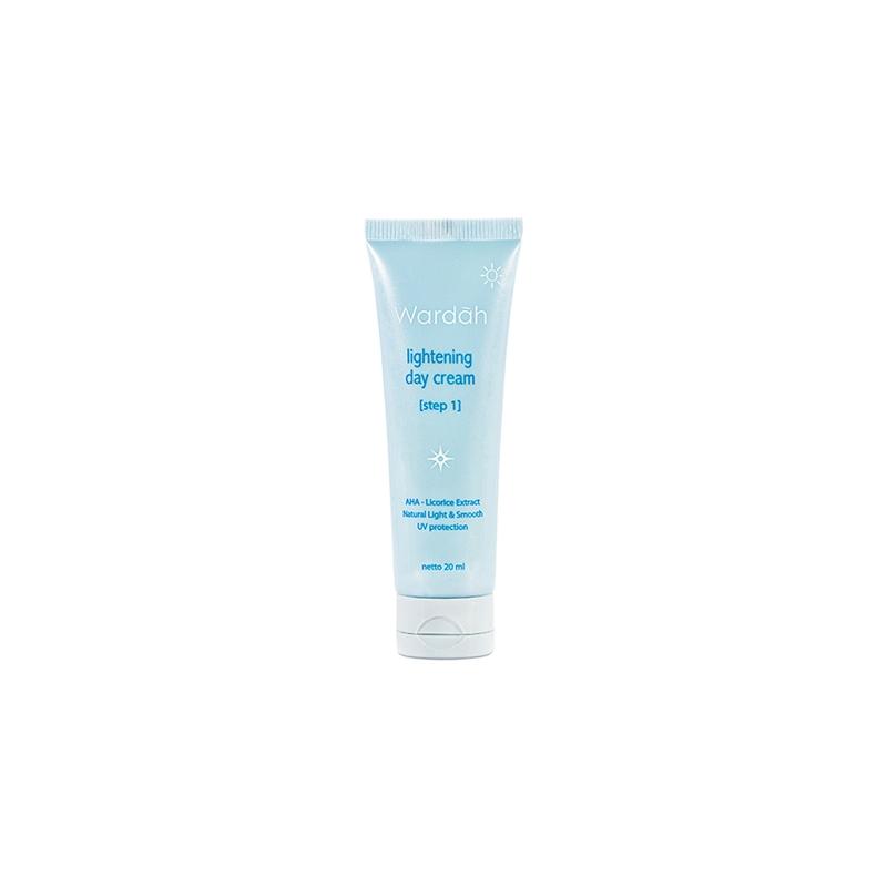 Deoonard 7 Days Whitening Cream Krim Pemutih Wajah: Jual Wardah Lightening Day Cream Step 1 - 20 Ml