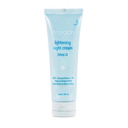 Wardah Lightening Night Cream Step 2 - 20 ml