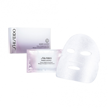 Shiseido Power Brightening Mask - 6 Sheets