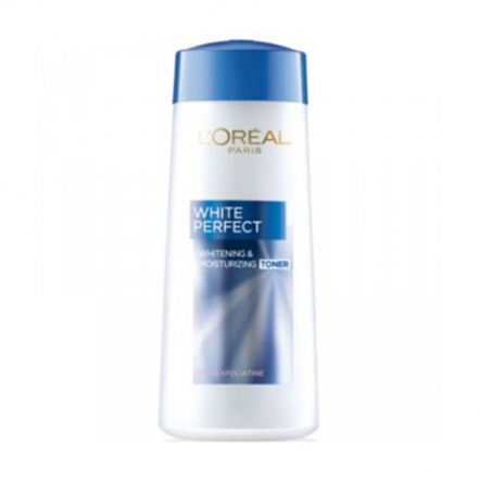 White Perfect Whitening & Moisturizing Toner - 200 ml - Biru