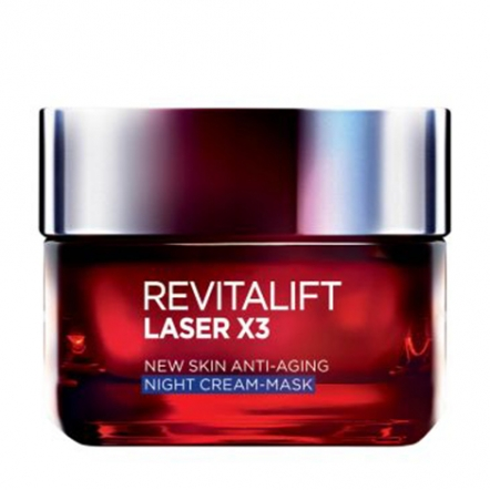 Loreal Paris Dermo Expertise Revitalift Laser X3 Night Cream - 50ml
