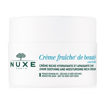 Crème Fraîche de Beauté Enrichie Soothing And Moisturizing Rich Cream  For Dry To Very Dry Skin - 50ml