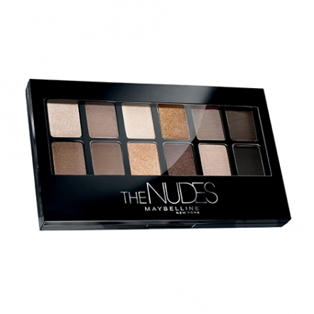 Maybelline The Nudes Eyeshadow Palette - Hitam