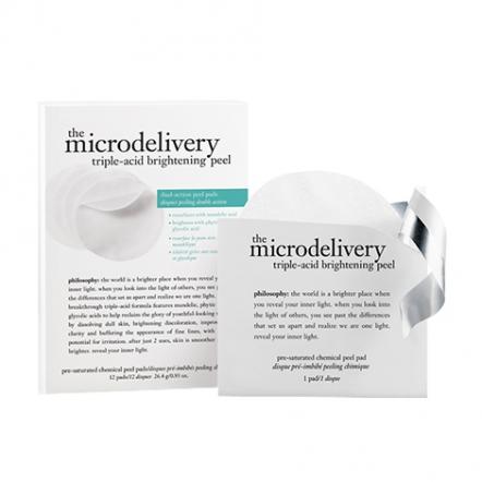 Microdelivery Triple Acid Brightening Peel Pad