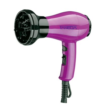 Takeda Hair Dryer Compact 350W Violet TKD-3038CV