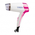 Hair Dryer Compact 450W White Pink TKD-3065CWP