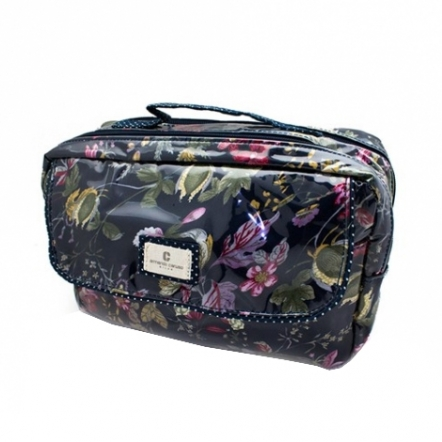 Armando Caruso Olimpia Makeup Bag - Navy
