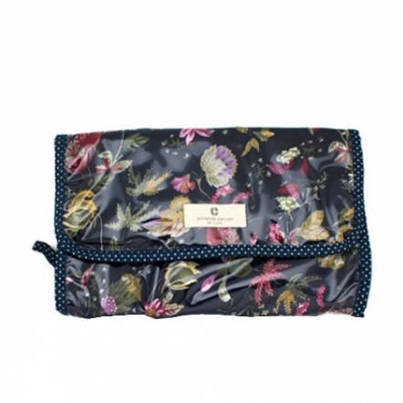 Armando Caruso Ophelia Travel Toiletries Bag - Navy