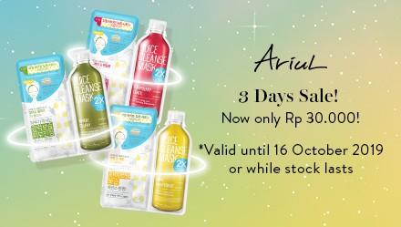 mini-Ariul Juice Cleanse Mask 2x Special Price-disc-151019/161019
