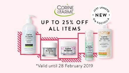 Corine De Farme New Product Disc