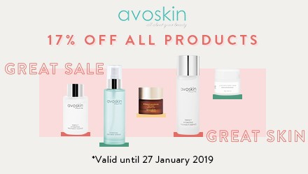 Avoskin Discount 17%