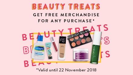 Beauty Treats FREE Merchandise