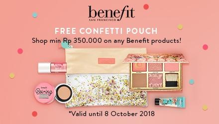 Benefit Confetti Pouch