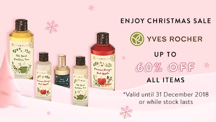 Yves Rocher Disc up to 60%