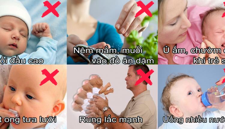 Muốn con khỏe mạnh từ thưở lọt lòng, mẹ hãy tránh xa 6 điều TUYỆT ĐỐI CẤM KỴ này nhé !