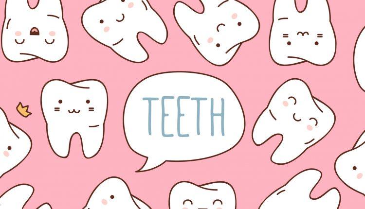 Qúa trình mọc răng sữa ở trẻ